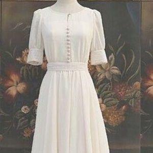 NWOT Fairytale Renaissance Midi Tea Dress